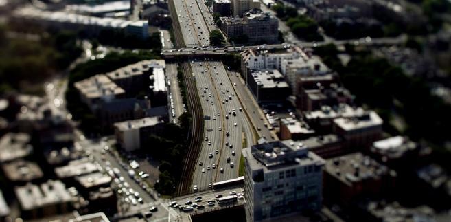 Boston (USA). Korek na autostradzie w Bostonie - jednym z nabardziej przyjaznych miast dla biznesu w USA.