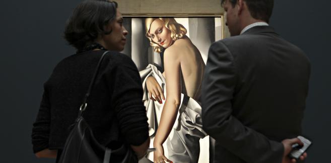 """""""Portrait de Marjorie Ferry"""" , Tamara Łempicka"""