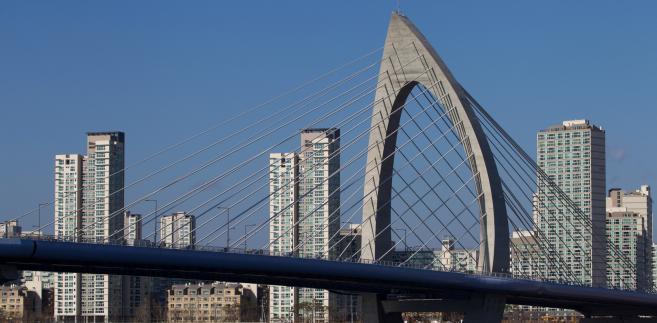Most Handuri w Seulu, Korea Południowa