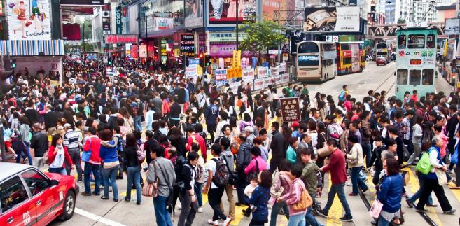 Ulica w Hongkngu