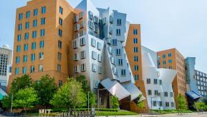 Massachusetts Institute of Technology, budynek projektu  Franka Gehryego,