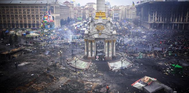 Ukraina, Kijów po zamieszkach, 2014
