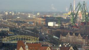 Stocznia Gdańska. Zdj. Stako, GFDL or CC-BY-SA-3.0
