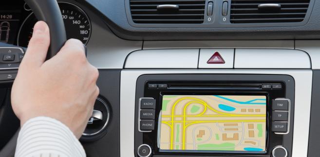 GPS, samochód
