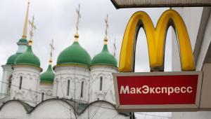 Restauracja McDonalds w Moskwie