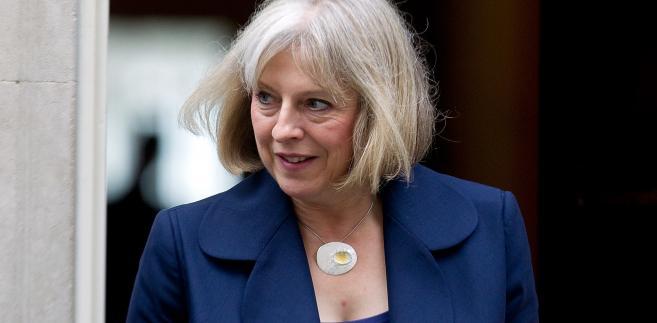 Theresa May - minister spraw wewnętrznych W. Brytanii
