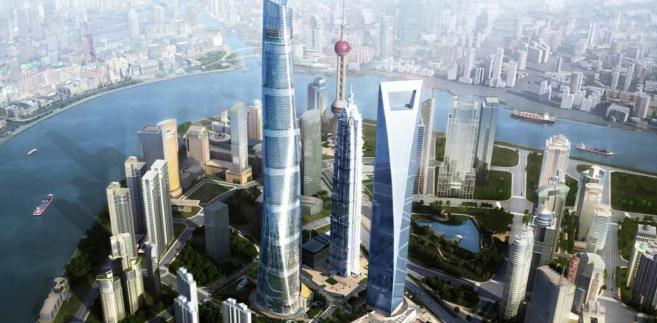 Shanghai Tower w Szanghaju, źródło: Gensler