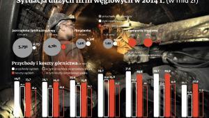 Sytuacja dużych firm węglowych w 2014 r.