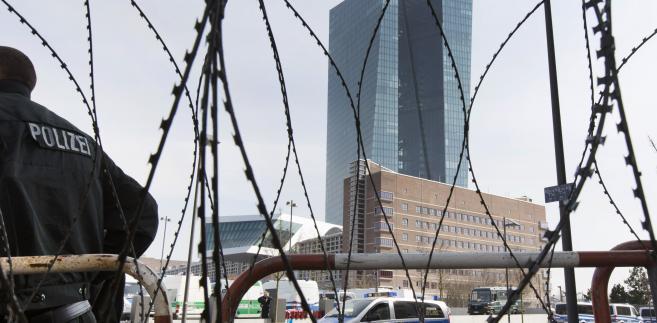 Nowa siedziba Europejskiego Banku Centralnego we Frankfurcie.