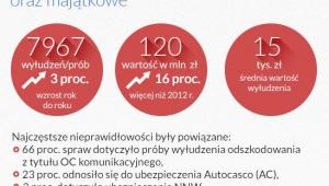 Pozostałę ubezpieczenia (infografika Dariusz Gąszczyk)