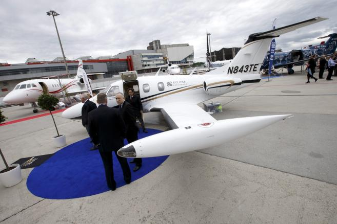Wystawa branży lotniczej EBACE2015 w Genewie