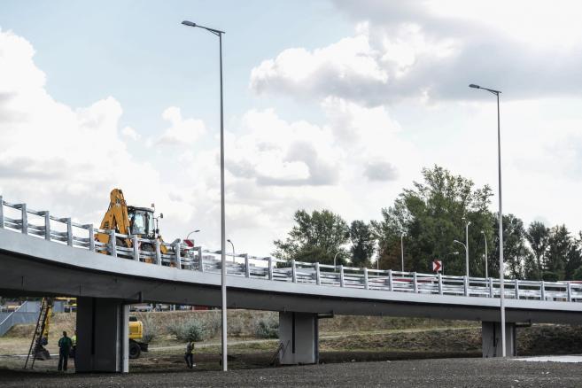 Trasy AK i mostu Grota-Roweckiego (zuz) PAP/Jakub Kamiński
