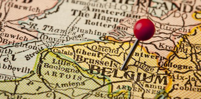 Belgia mapa