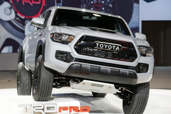 Toyota Tacoma TRD Pro  fot. EPA/Kamil Krzaczynski Dostawca: PAP/EPA.