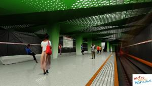 II linia metra w Warszawie - stacja Księcia Janusza