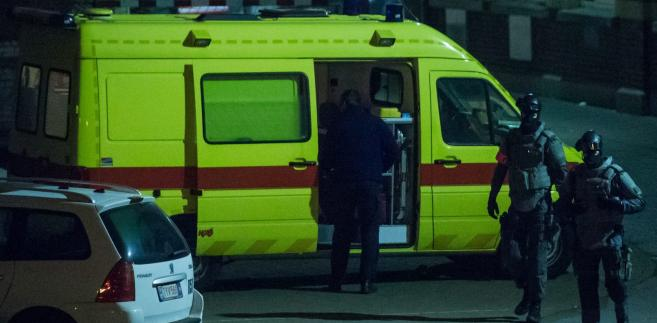 Belgia akcja policji