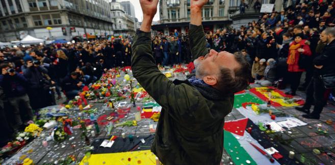 Ulice Brukseli po zamachach, w których zginęło 31 osób Francois Lenoir/Reuters/Forum