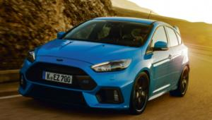 Ford Focus RS materiały prasowe