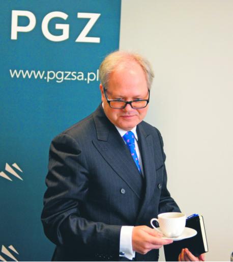 Arkadiusz Siwko, prezes PGZ PIOTR POLAK/PAP