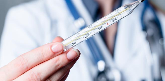 lekarz, gorączka, choroba