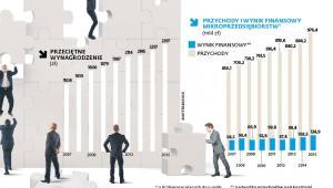 Mikroprzedsiębiorstwa - wyniki finansowe i wynagrodzenia