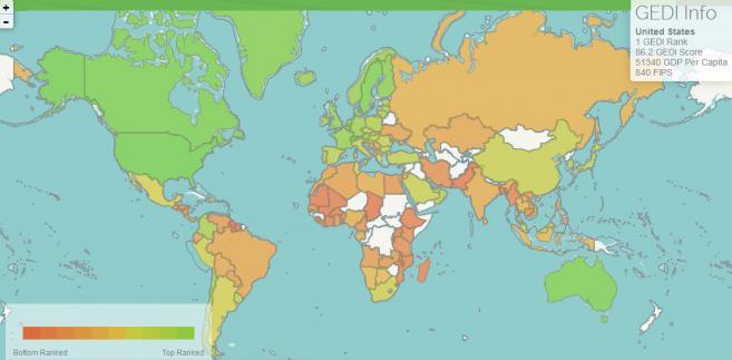 Globalny indeks przedsiębiorczości