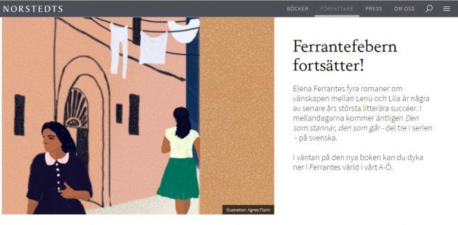 Divante wdrożyło nowy serwis internetowy dla szwedzkiego wydawnictwa Norstedts Förlagsgrupp