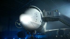 Baza Lufthansy na lotnisku w Monachium. Premiera pierwszego A350 tej linii. Fot. Konrad Majszyk
