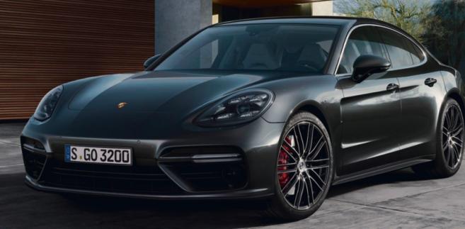 Porsche Panamera Turbo fot. mat. prasowe