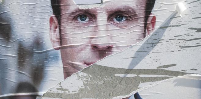 Emmanuel Macron, plakat