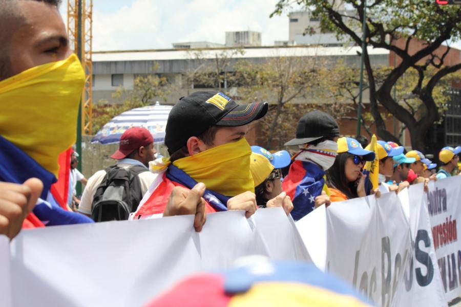 Wenezuela demonstracja