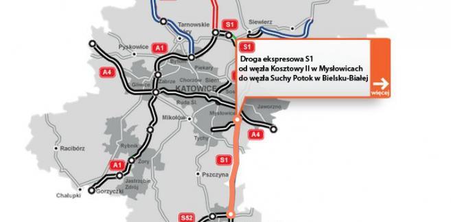 Droga eksprwsowa S1 - Mysłowice - Bielsko-Biała