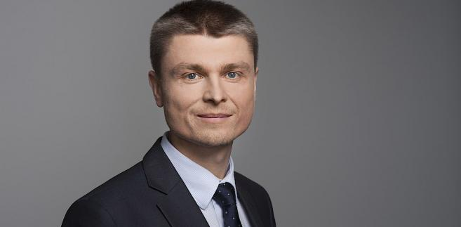 Tomasz Stępień, prezes firmy GAZ-SYSTEM