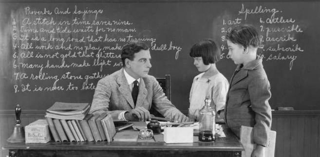 Nauczyciel szkoła