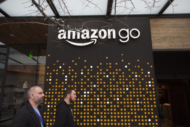 Pierwszy sklep bez kas Amazon Go