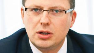 Marcin Warchoł is postdoctoral law sciences, Deputy Minister of Justice, photo: Wojtek Górski