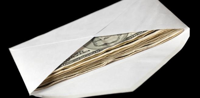 Koperta z dolarami