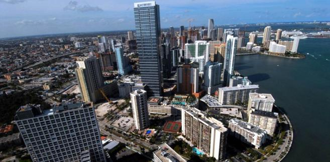 Miami na Florydzie - jedno z miast, w którym boom mieszkaniowy był największy i które najbardziej ucierpiało na spadku cen podczas kryzysu.