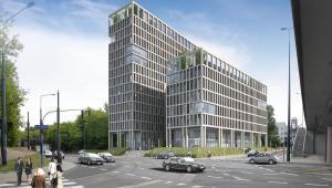 Vector-nowy biurowiec na Woli