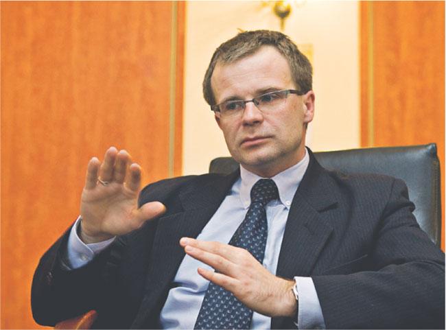 Ludwik Kotecki, wiceminister finansów