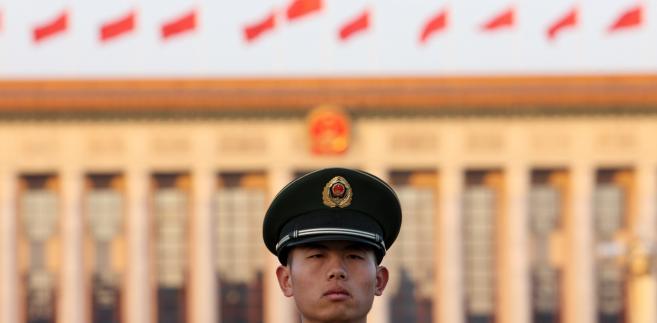 Żołnierz chińskiej Armii Ludowo-Wyzwoleńczej