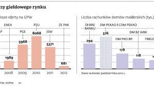 liderzy giełdowego rynku