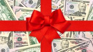 waluty, prezent, dolary