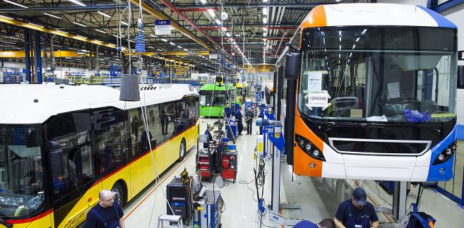 Montaż autobusów Volvo w fabryce we Wrocławiu (10)
