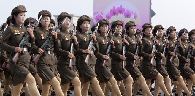 Parada w Pyongyangu