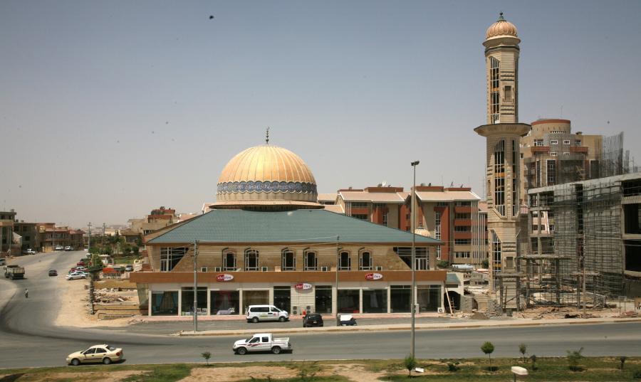 Miasto Suleymania w Iraku