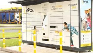 Paczkomat InPost w Wielkiej Brytanii