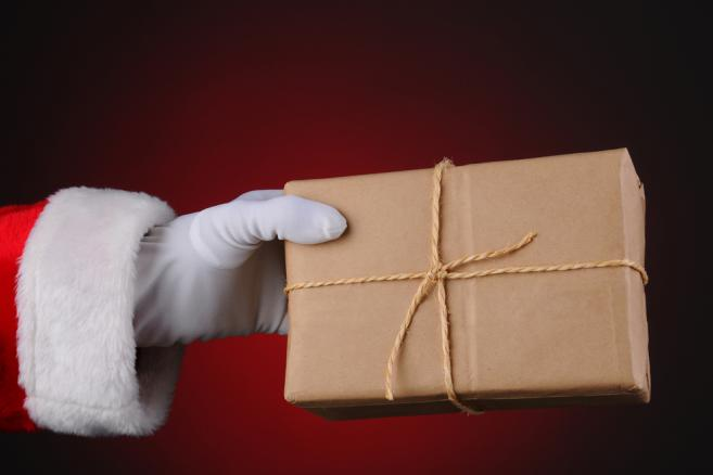 mikołaj, święta, prezent
