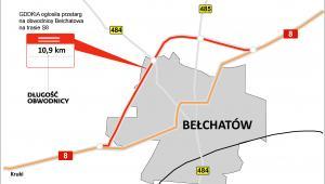 Przetarg na obwodnicę Bełchatowa