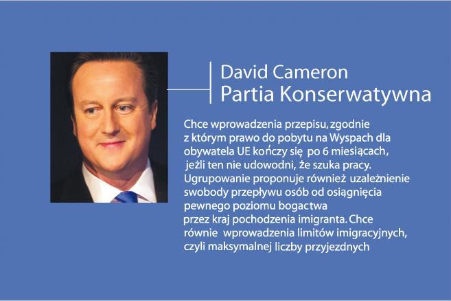 David Cameron o imigrantach